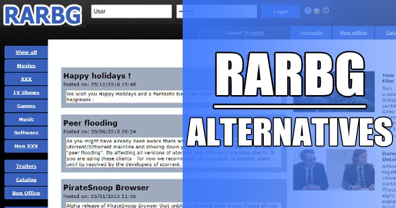 RARBG Alternatives