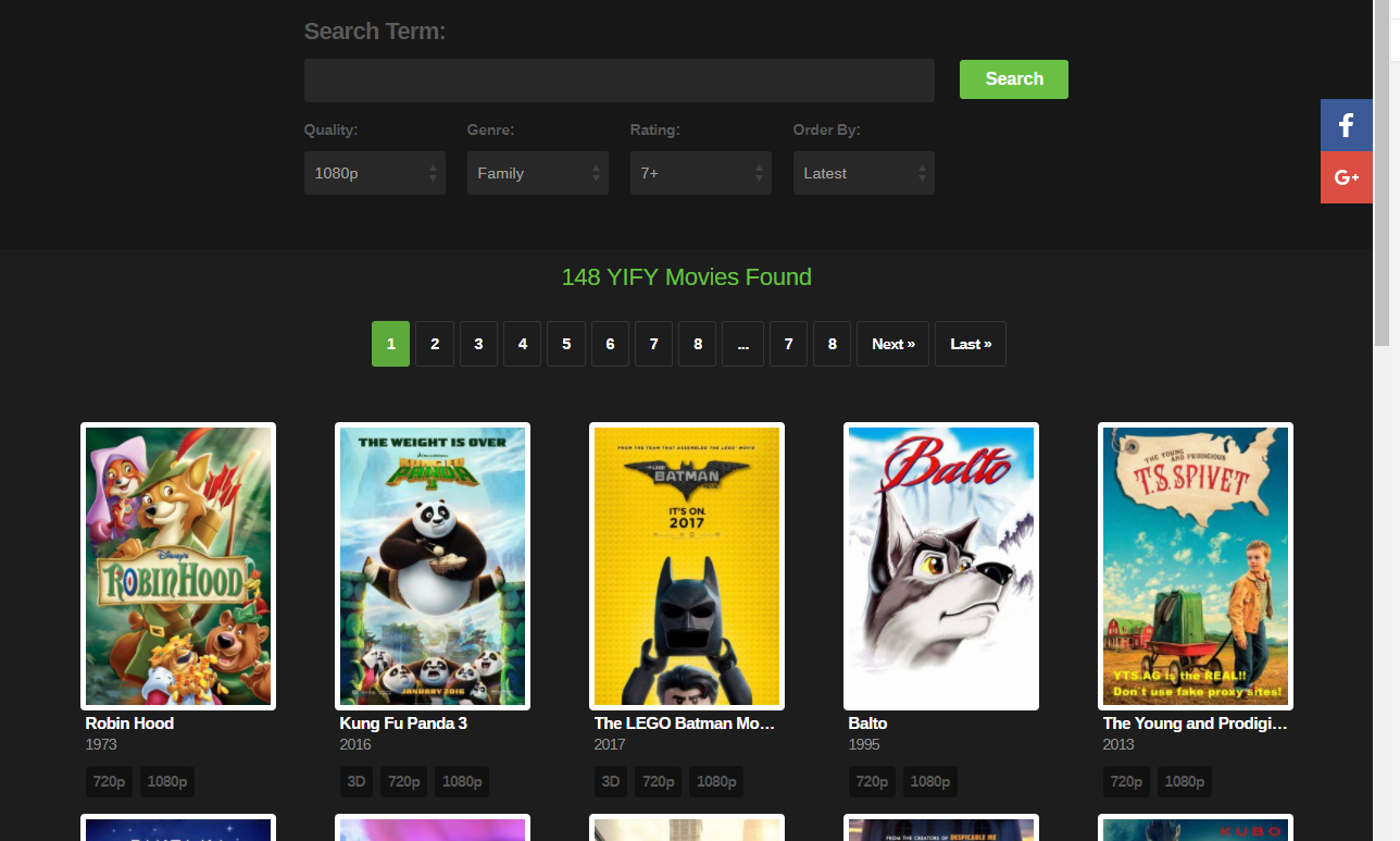 yts ag yify torrents search