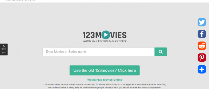 Watch free movies online - 123movies