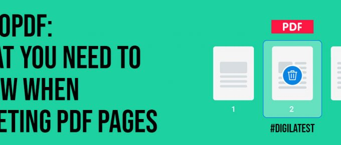 GoGoPDF What You Need To Know When Deleting PDF Pages